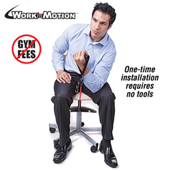 Work In Motion - Chair Exerciser  Model# WIM-001