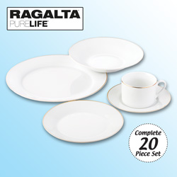 Ragalta 20 Piece Dinnerware Set&nbsp;&nbsp;Model#&nbsp;RDS-007