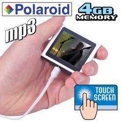 Polaroid 4GB MP3 Player  Model# PMP120-4