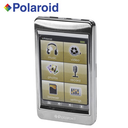 Polaroid 8GB Touch MP3 Player  Model# PMP282-8