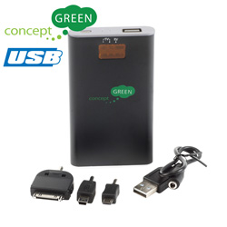 iPad/iPhone Portable Charger  Model# CG3600-BLACK