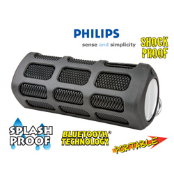 Philips Shoqbox Portable Speaker  Model# SB7200/37
