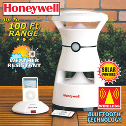 Honeywell Wireless Solar Speaker  Model# 881011-06