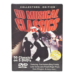 50 Musical Classics&nbsp;&nbsp;Model#&nbsp;7857