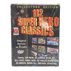 112 Super Hero Classics&nbsp;&nbsp;Model#&nbsp;8027