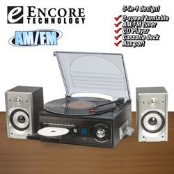 Encore Tech Home Music System  Model# 9282