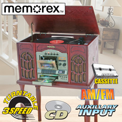 Memorex 5-In-1 Nostalgia System  Model# 9215M
