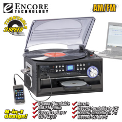 Encore 8-in-1 Music System  Model# 9284MO