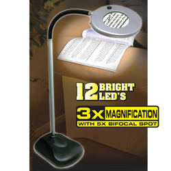 Cordless Magnifying Hobby Lamp  Model# JB5308