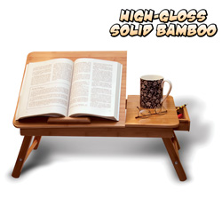 Bamboo Lap Desk  Model# HY-10227