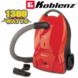 Koblenz Maxima Red Canister Vacuum&nbsp;&nbsp;Model#&nbsp;KC1300R
