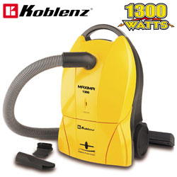 Koblenz Maxima Yellow Canister Vacuum  Model# KC1300A