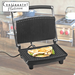 Stainless Steel Panini Grill&nbsp;&nbsp;Model#&nbsp;CP43529