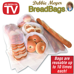 Debbie Meyer Bread Bags  Model# DM051124