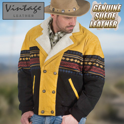 Cognac Southwestern Jacket&nbsp;&nbsp;Model#&nbsp;23760-COG/BRN
