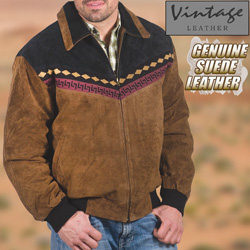Southwestern Jacket  Brown/ Black  Model# 23772BRN/BLK