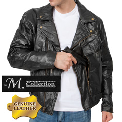 Leather Concealment Jacket&nbsp;&nbsp;Model#&nbsp;288011