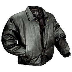Caribou Creek Black Bomber Jacket