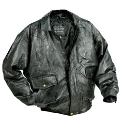 Napoline™ Roman Rock™ Design Genuine Leather Jacket  Model# GFEUCTXL