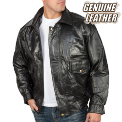 Napoline™ Roman Rock™ Design Genuine Leather Jacket  Model# GFEUCT4X