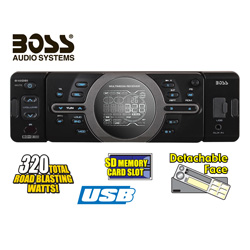Boss Car Stereo  Model# 810DBI