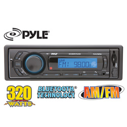 Car Stereo with Bluetooth  Model# PLR27MPBU