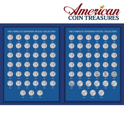 Complete Jefferson Nickel Collection  Model# 7047