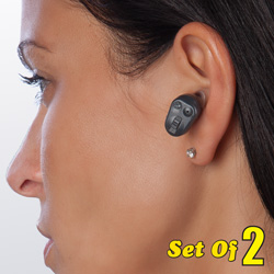 2 Pack Micro Hearing Enhancement&nbsp;&nbsp;Model#&nbsp;XSI-HA06