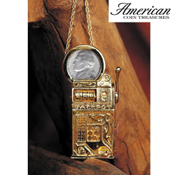Pin/ Pendant Jefferson Necklace&nbsp;&nbsp;Model#&nbsp;2427