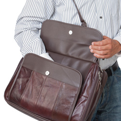 Genuine Cowhide Briefcase  Model# GWB-071