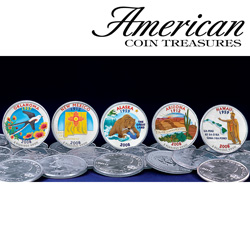 2008 Color State Quarters  Model# 584