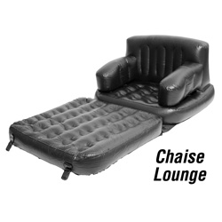 Inflatable 5-In-1 Chair  Model# 6011TCB