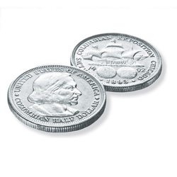 The Columbian Exposition Silver Half Dollar