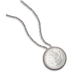 Morgan Silver Dollar Pin/Pendant