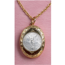 Mustard Seed Coin Locket