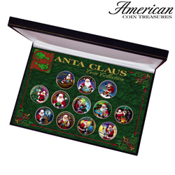 Santa Clause Coin Collection  Model# 5365