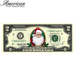 Merry Money Color 2 Dollar Bill  Model# 5792