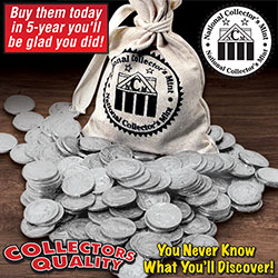 Grab Bag Of 20 Buffalo Nickels