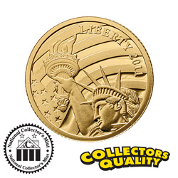 Liberty 125th Anniversary Coin&nbsp;&nbsp;Model#&nbsp;10947W