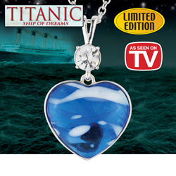 Titanic Collectible Necklace  Model# 9981