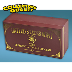 2007 Graded Presidential Dollars Case