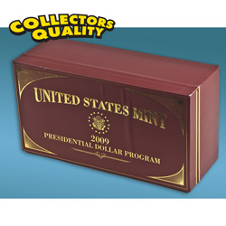 2009 Graded Presidential Dollar Case