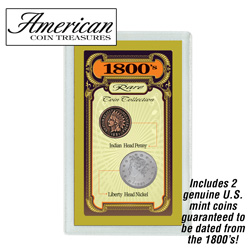 1800s Rare Coin Collection  Model# 1634