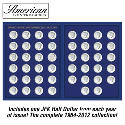 1964-2011 JFK Half Dollar Set&nbsp;&nbsp;Model#&nbsp;11284