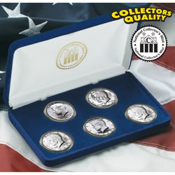 1964-68 JFK Silver Half Dollar Set