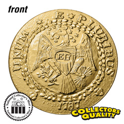 Brasher Doubloon Tribute Coin