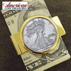 Walking Liberty Money Clip&nbsp;&nbsp;Model#&nbsp;2214