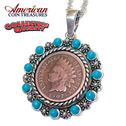 Indian Penny Pendant  Model# 209