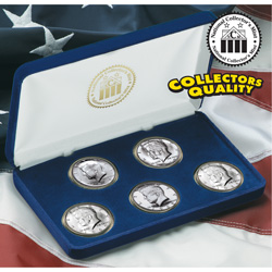 1965-69 Silver JFK Half Dollar Set&nbsp;&nbsp;Model#&nbsp;10764W