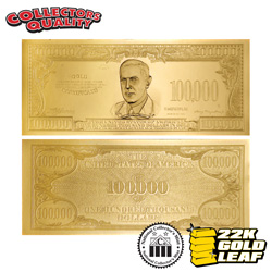 U.S. $100K Gold Certificate&nbsp;&nbsp;Model#&nbsp;68550W